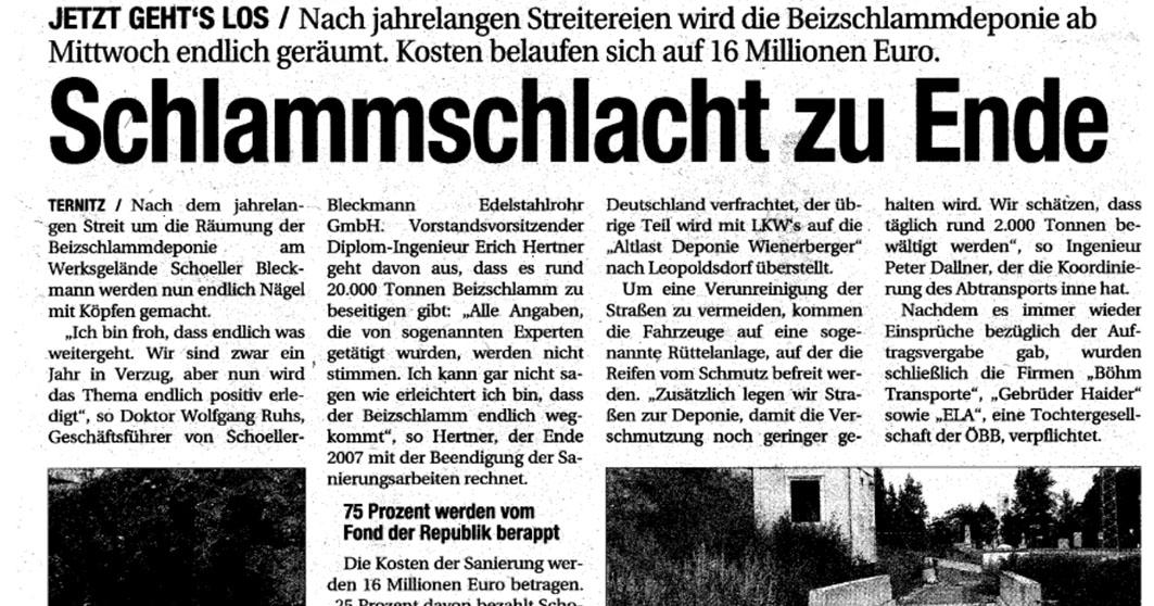 Aspg Altlastensanierungsprojekte Gmbh Energie Ag Oberosterreich